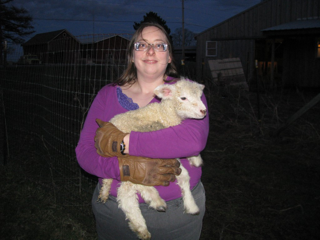 Carrying a Lamb