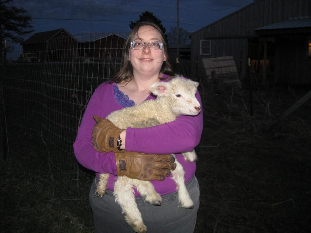 Carrying a Lamb